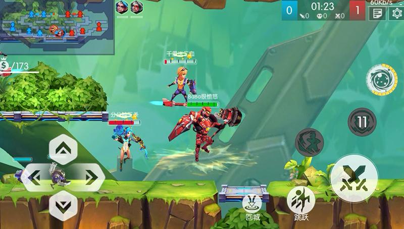 《超能战士》通用战斗技巧攻击篇图3.jpg